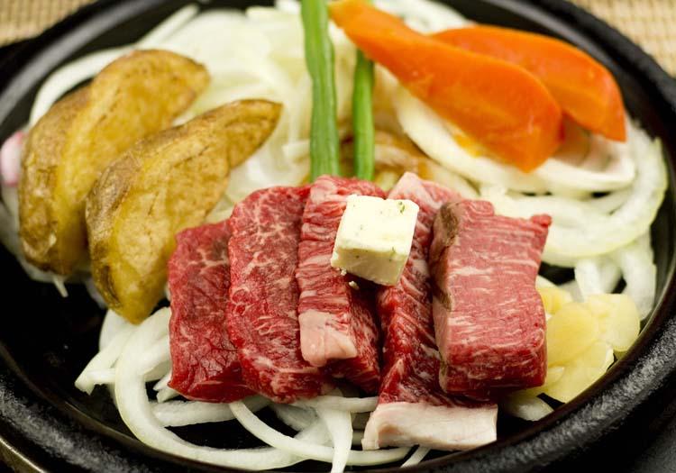 三田屋本店 黒毛和牛黒毛和牛4種ステーキ100g