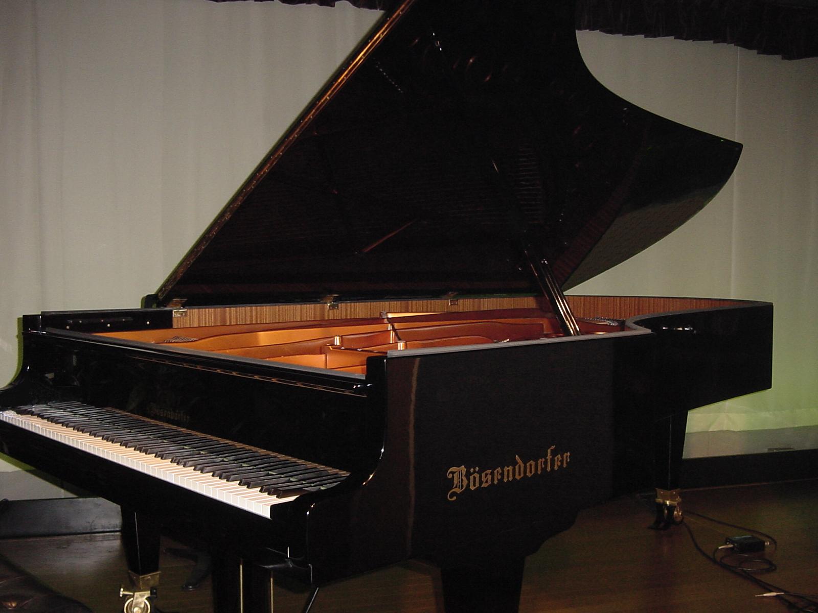 ベーゼンドルファー インペリアルフリューゲル290のピアノ