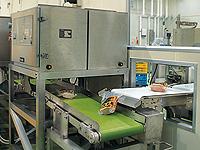カット・包装・金属検出器