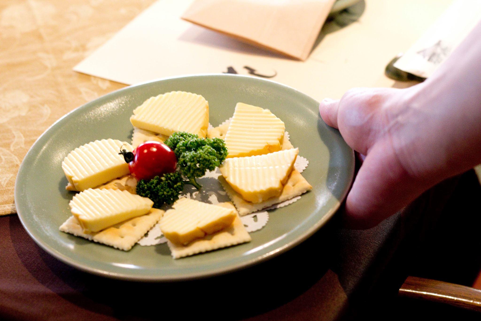 スモークチーズの盛り合わせ