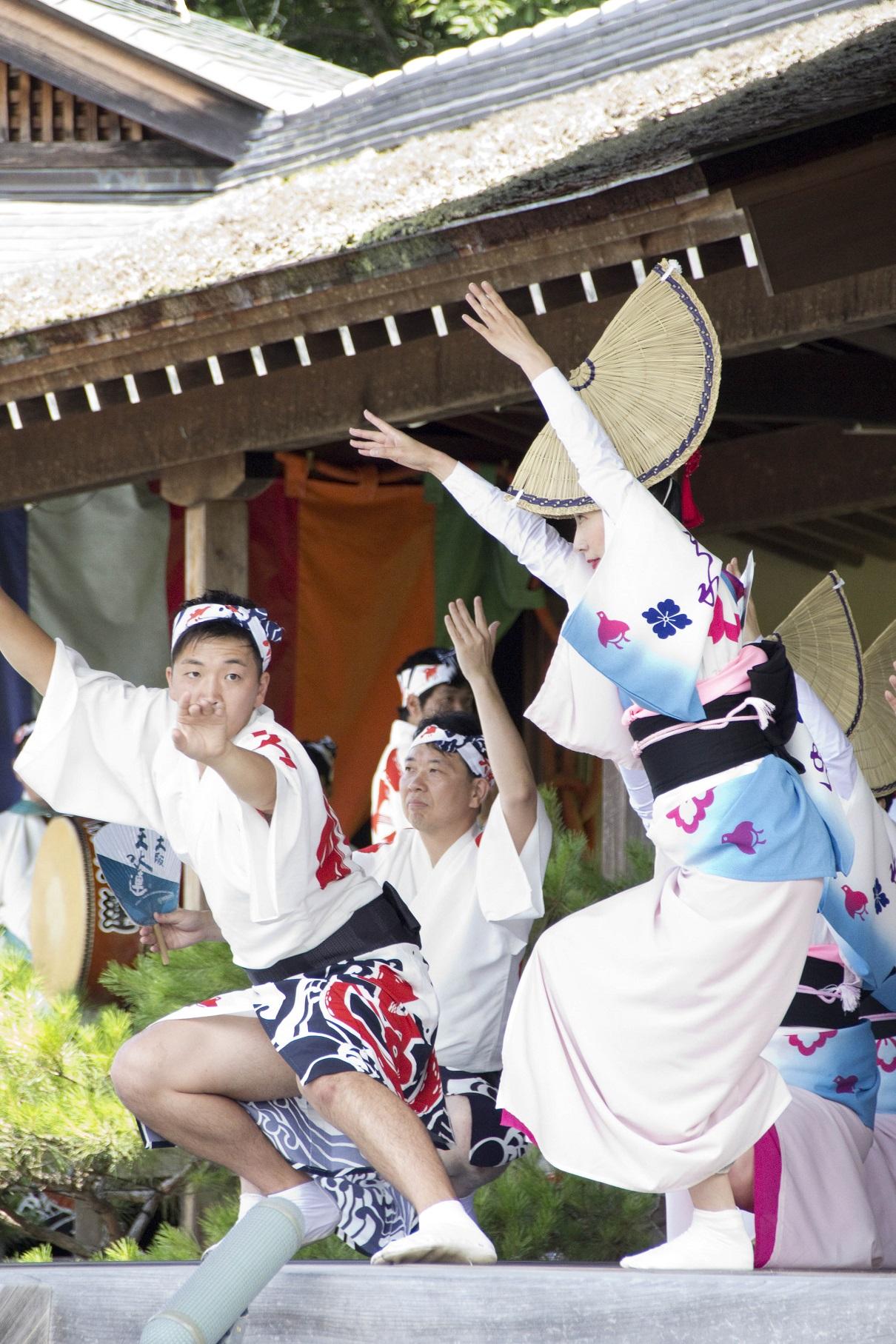 2019海の日イベント 阿波踊り 大阪天水連