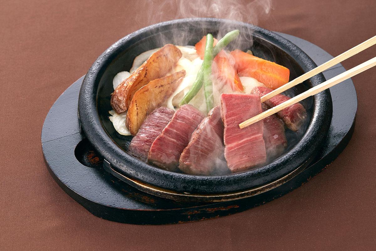 大丸神戸レストラン店 ヘレステーキ焼きイメージ