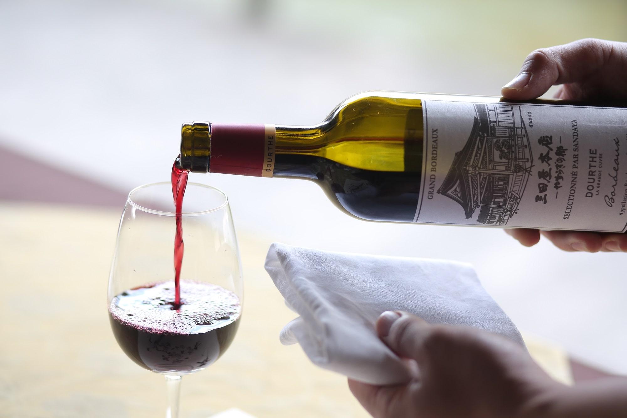 三田屋本店ワイン